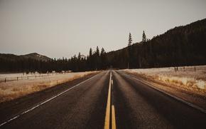 Картинка road, sky, mountains
