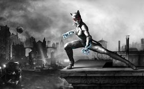 Обои броня, Женщина-Кошка, Catwoman, Selina Kyle, Селина Кайл, Wii U, Batman: Arkham City Armored Edition