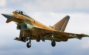Картинка истребитель, полёт, Eurofighter Typhoon, FGR4