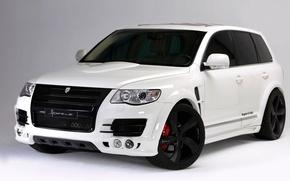 Обои Volkswagen, tuning, roadster, Tuareg, GT-460