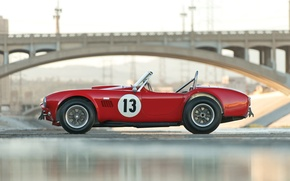 Картинка Shelby, Red, race, Cobra, 1964, competition, 289