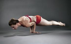 Картинка спорт, гимнастика, девушка