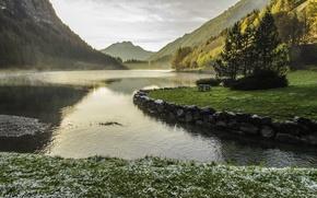 Картинка landscape, nature, sunset, Lake