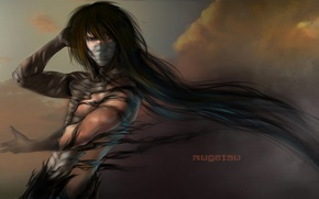 Картинка аниме, арт, ART, Bleach, Ichigo Kurosaki, блич, финальная форма