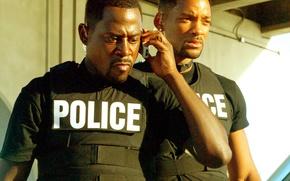Картинка Police, копы, Will Smith, Уилл Смит, Bad Boys II, Martin Lawrence, Мартин Лоуренс, Плохие парни …