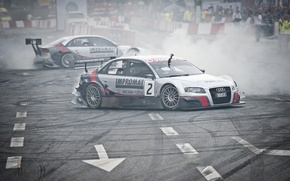 Картинка Audi, Ауди, Спорт, Машина, Тюнинг, Два, Street-Racing, VERVA
