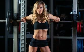 Обои pose, workout, fitness, gym