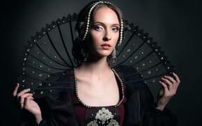 Картинка портрет, арт, Anna, renaissance
