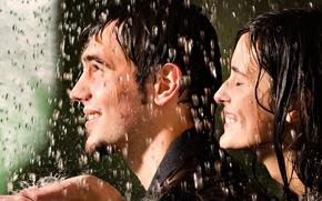 Картинка лицо, эмоции, люди, дождь