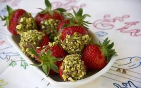 Картинка ягоды, еда, клубника