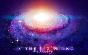 Картинка звезды, свет, пространство, universe, galaxy