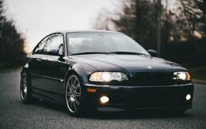 Картинка дорога, машина, авто, BMW