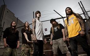 Картинка группа, метал, Дэткор, Suicide Silence