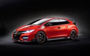 Картинка Concept, Honda, Civic, Type R, 2014