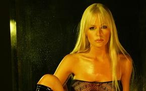 Картинка взгляд, лицо, блондинка, eyes, face, blonde, Katie Lohmann