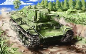 Картинка СССР, история, World of tanks, WoT, советский, тяжелый танк