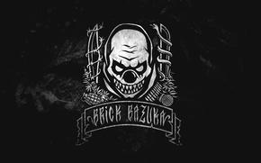Картинка the Chemodan Clan, Music, Black, Логотип, Evil Clown, Музыка, Underground, Russian Hip-Hop