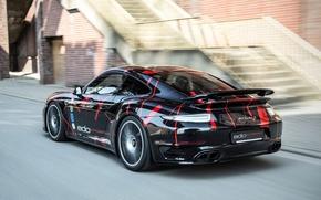 Картинка 911, Porsche, автомобиль, turbo s