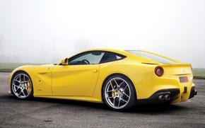 Картинка Ferrari, суперкар, Красотка, Novitec Rosso, F12berlinetta