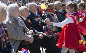 Картинка праздник, победа, ветеран, 9 мая