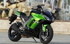 Картинка мотоциклы, мото, Kawasaki, moto, motorcycle, Z1000SX 2011, motorbik, Ninja, Z1000SX