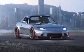 Обои Car, S2000, Future, Honda, Sport, S2-4R, by Khyzyl Saleem, Rotor, Tuning