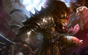 Картинка hon, Heroes of Newerth, Ferocious Leo Night Hound