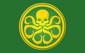 Картинка skull, Marvel, comics, tentacles, Hail Hydra