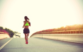 Обои fitness, jogging, running, sportswear