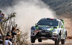 Картинка Ford, Люди, Мексика, Форд, Mexico, WRC, Ken Block, Rally, Fiesta
