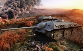 Картинка е-25, wot, world of tanks, обои, e-25