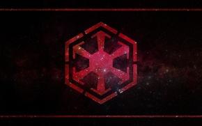 Картинка Star Wars, символ, Звёздные войны, symbol, ситх, sith, the Sith Empire, империя ситхов