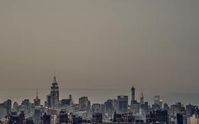 Картинка USA, United States, skyline, New York, Manhattan, NYC, New York City, Empire State Building, architecture, …
