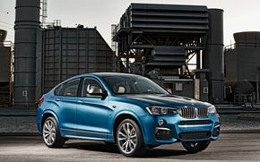Картинка завод, вид, BMW, 2015, M40i