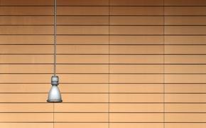 Картинка фон, стена, лампа