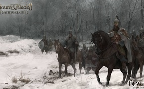 Картинка арт, всадники, войско, Mount and Blade 2: Bannerlord, Bannerlord, Mount and Blade 2