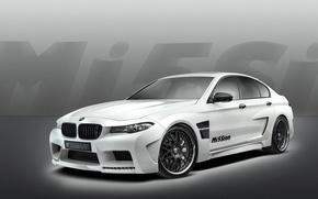 Картинка Авто, Белый, BMW, Машина, Тюнинг, Бумер, БМВ, Корпус, Седан, Hamann, Mission