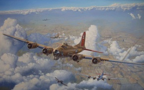 Картинка B-17, Aviation, Steve Heyen