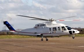 Картинка вертолёт, Сикорский, коммерческий, «Спирит», Sikorsky S-76 Spirit, S-76