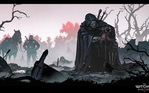 Картинка the witcher, ведьмак, the witcher 3 wild hunt