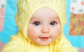 Картинка дети, детство, ребенок, девочка, Девочка, красивая, голубые глаза, happy, красивые, blue eyes, beautiful, pretty, child, …