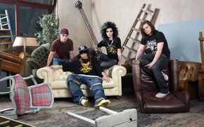 Обои music band, pop-rock, tokio hotel