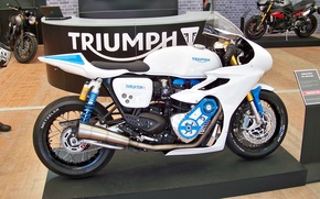 Картинка moto, triumph, motorbike, compressor