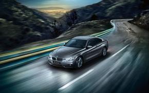 Картинка бмв, купе, BMW, Coupe, 4 series, F32, 2015