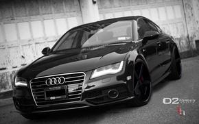 Картинка Audi, черный