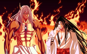 Картинка fire, flame, game, seal, anime, man, fight, Magic, evil, asian, manga, japanese, kimono, oriental, asiatic, …