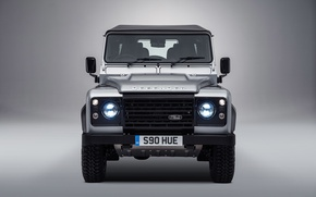 Картинка silver, Land Rover, Defender, 2015, Special Model