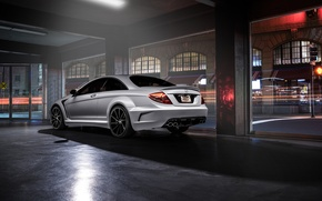 Картинка Mercedes-Benz, Body, AMG, Wide, Rear, Ligth, CL63, Customs