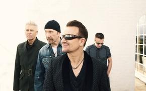 Картинка Adam Clayton, The Edge, Bono, Larry Mullen Jr.