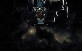 Картинка полет, звездолет, Star Citizen, Starfarer